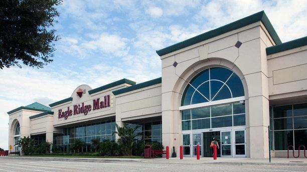 The Eagle Ridge Mall in Lake Wales, Fla. was evacuated Sunday evening.