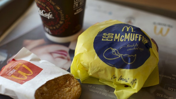 A new jingle about the McDonald's Egg McMuffin was created by famous jingle writer Roger Greenaway.