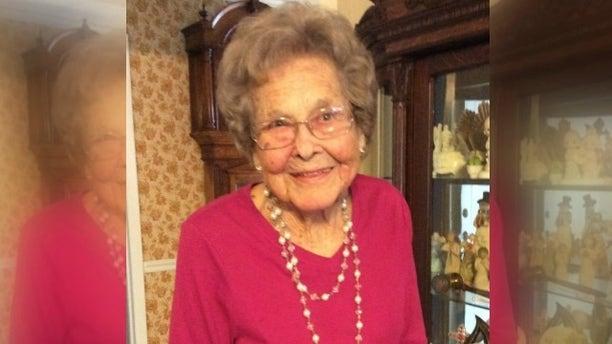 Elizabeth Harrington turned 104 on Wednesday.