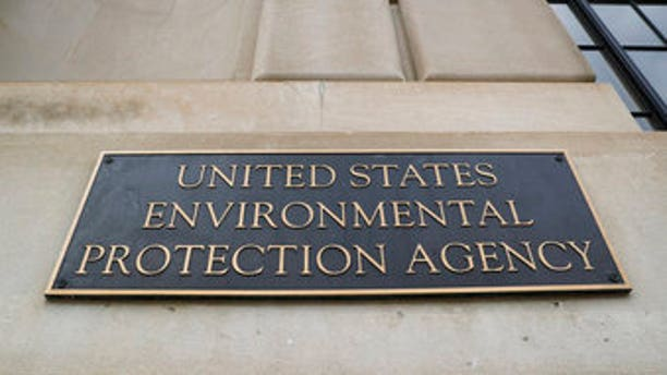 The Environmental Protection Agency (EPA) Building in Washington, Thursday, Sept. 21, 2017.  Employees at the Environmental Protection Agency are attending mandatory training sessions this week to reinforce their compliance with laws and rules against leaking classified or sensitive government information.(AP Photo/Pablo Martinez Monsivais)