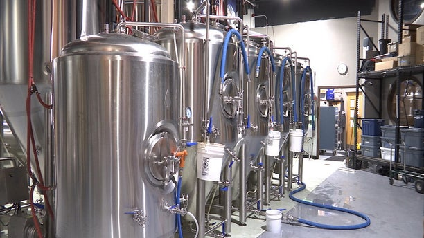 """""""We've been buying new steel tanks, (and) we are planning to add 2 or 3 more,"""" Frothy Beard Brewing Co. head brewer Joey Siconolfi told Fox News."""