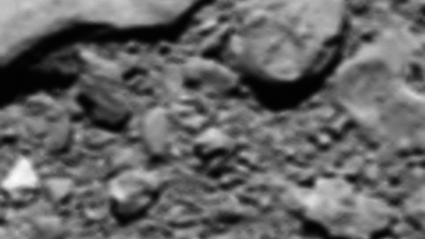 Reconstructed last image from Rosetta (European Space Agency)