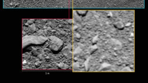 Rosetta's last images in context