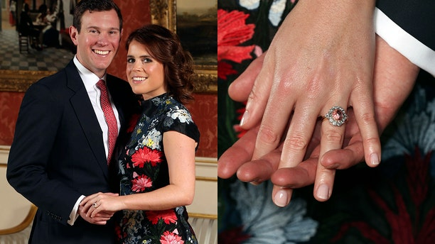 Princess Eugenie and Jack Brooksbank will marry in the fall at St. George's Chapel.
