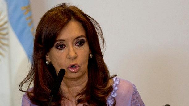 Argentine President Cristina Fernández de Kirchner (AP Photo/Rodrigo Abd)