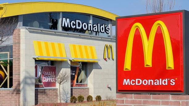 A California man ate half of the hamburger from the fast food chain before realizing it had not been cooked.