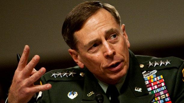 June 16: U.S. Central Commander Gen. David Petraeus testifies on Capitol Hill in Washington, before the Senate Armed Services Committee. (AP)