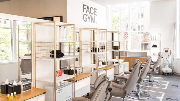 """Face Gym, a """"gym studio for the face,"""" recently opened a location in New York City."""