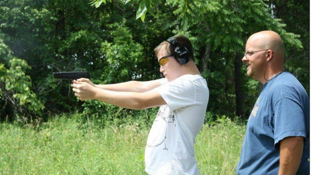 Kenneth Shults teaches youth gun safety instruction and considers himself a responsible gun owner.