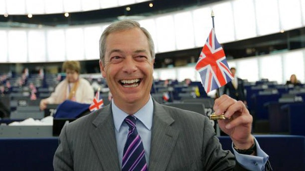 """UK Independence Party Leader Nigel Farage was one of the """"leave"""" campaign's key leaders."""