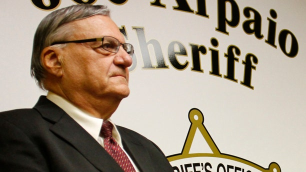 Sheriff Joe Arpaio, of Arizona's Maricopa County.