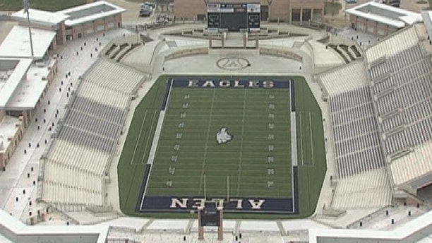 """The Allen Independent School District on Tuesday announced consulting engineers found """"significant"""" structural problems at Eagle Stadium."""