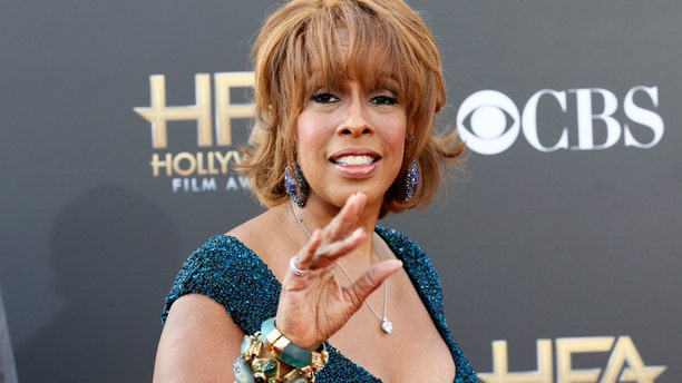 Morning talk show host Gayle King arrives at the Hollywood Film Awards in Hollywood, California November 14, 2014.
