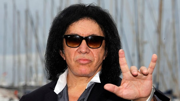 """Kiss"" rocker Gene Simmons has filed an application to trademark the ""rock on"" hand sign on Friday, June, 9, 2017."