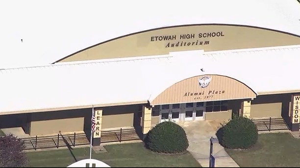 Two Georgia teenagers who allegedly made threats against their high school have been arrested.