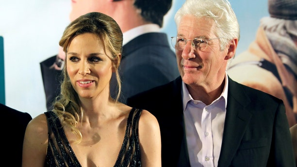 Actor Richard Gere and his new wife, Alejandra Silva, are reportedly expecting their first child.