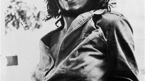 This 1976 file photo originally released by Island Records shows Jamaican reggae singer Bob Marley. (AP Photo/Island Records, File)