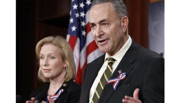 Sunday: Democratic Sens. Kirsten Gillibrand and Charles Schumer of New York say they've made changes to a health care bill for first responders that they think will attract the Republican support they need for passage.