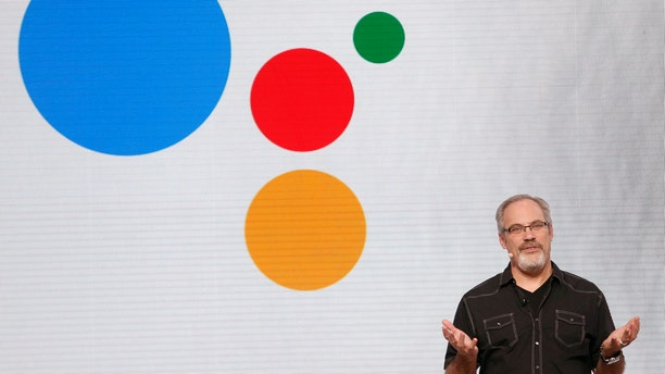 File photo: Scott Huffman, Engineering Director at Google, speaks about Google Assistant during the presentation of new Google hardware in San Francisco, California, U.S. October 4, 2016. (REUTERS/Beck Diefenbach)