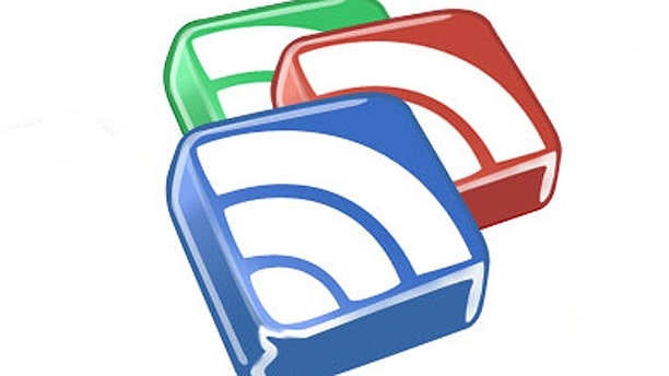 The logo for Google Reader, an RSS-feed reader that the search giant recently cancelled -- sending countless users scrambling for a replacement.