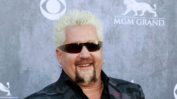 Celebrity chef Guy Fieri teamed up with the Salvation Army to cook barbecue for those who evacuated the ravaging wildfires in California.