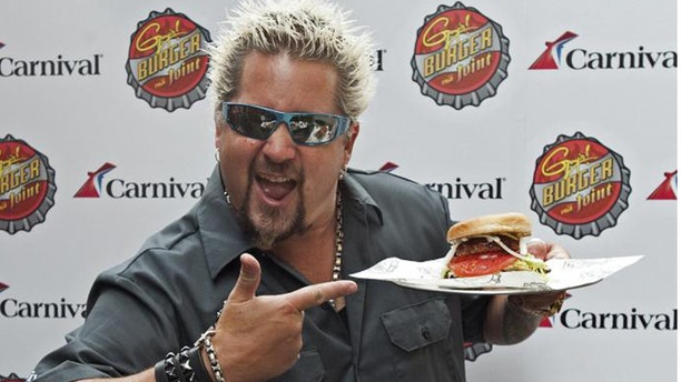 """Food Network star Guy Fieri has become a household name for his """"Diners, Drive-Ins and Dives"""" show (AKA Triple D), which has him touring all over the country discovering local popular greasy spoons."""
