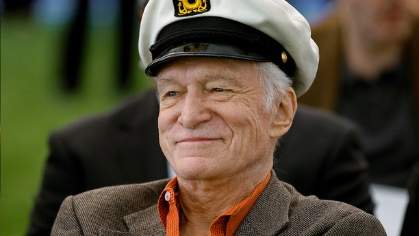 """Hefner launched """"Playboy"""" in 1953."""