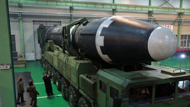 Photos depicting the Hwasong-15 missile showed it was much larger than previous ICBMs launched by North Korea.