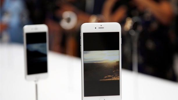 A new Apple iPhone 6 Plus is seen during an Apple event at the Flint Center in Cupertino, California, September 9, 2014. REUTERS/Stephen Lam