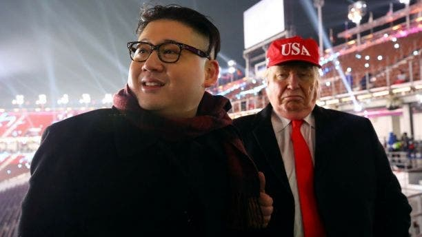 The same two impersonators — Howard X and Dennis Alan — were booted from the opening ceremony of the Pyeongchang Winter Olympics in February.