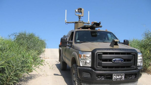 The Border Protector UGV (Israel Defense Forces).