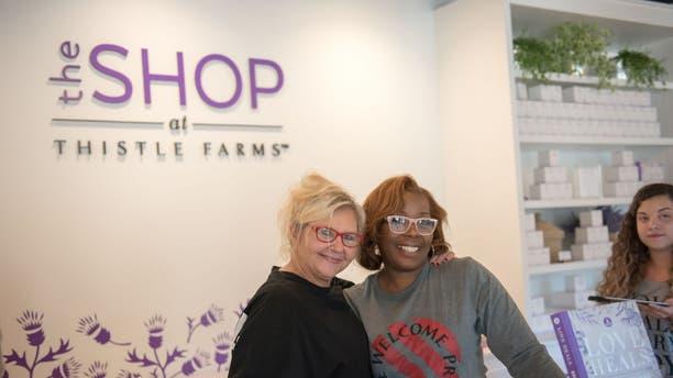 Jennifer & Kim in Storefront