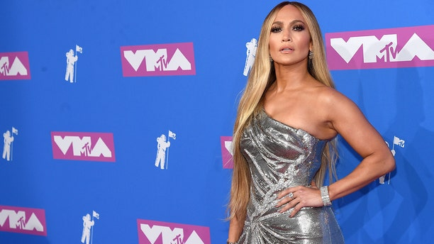 Jennifer Lopez attends the 2018 MTV Video Music Awards at Radio City Music Hall on August 20, 2018 in New York City.