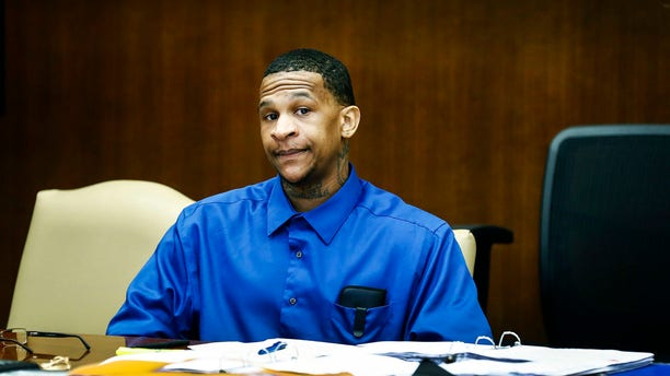 Quinton Tellis attends his retrial in Batesville, Miss., on Sept. 26, 2018.
