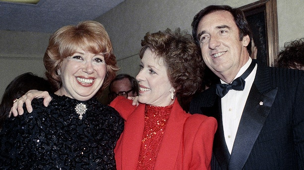 Beverly Sills, Carol Burnett and Jim Nabors on April 26, 1986. (AP Photo/Nick Ut)