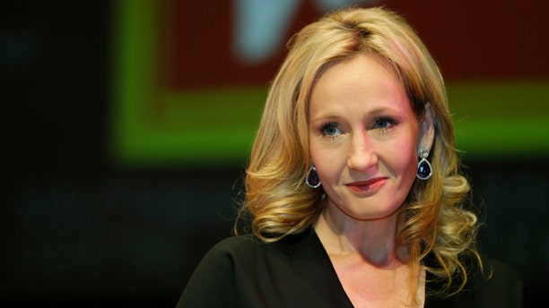 Sept. 27, 2012: British author J.K. Rowling poses for the photographers during  photo call to unveil her new book, entitled: 'The Casual Vacancy', at the Southbank Centre in London.