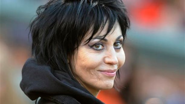 In this April 20, 2013 file photo, singer and songwriter Joan Jett is seen in Baltimore.