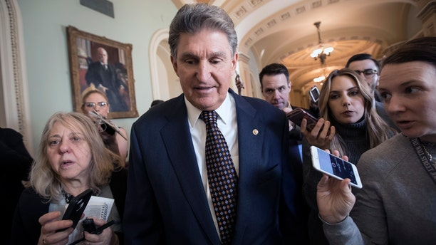 Joe Manchin is seeking a second six-year term in the Senate this November.