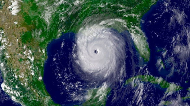 Hurricane Katrina, seen here in a satellite image from Aug. 28, 2005, killed nearly 2,000 people and caused damages in excess of $125 billion, according to federal estimates.