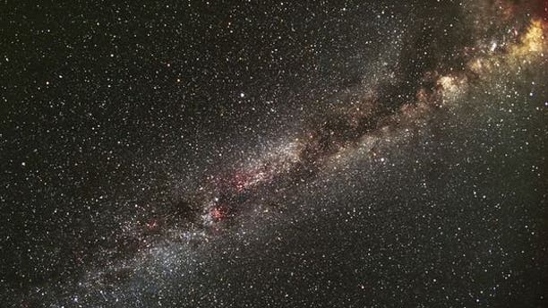 Image of the Milky Way that includes the Kepler field of view (Credit: Carter Roberts).