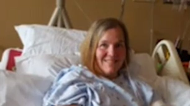 Kim Steele, 50, initially thought she was coming down with the flu.