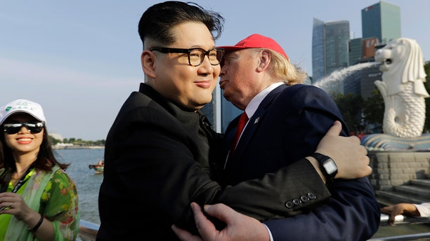 The lookalike, who identified himself as Howard X, said police at Changi Airport told him to stay away from the hotel where the Trump-Kim summit will take place.
