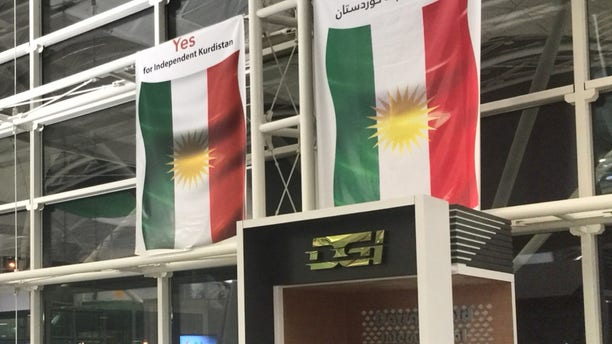 Kurdish flags adorned with support for the independence referendum still adorn its capital of Erbil, weeks after the controversial vote and its ongoing fallout.