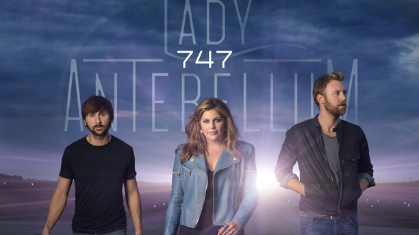 """This CD cover image released by Capitol Records Nashville shows """"747,"""" by Lady Antebellum."""