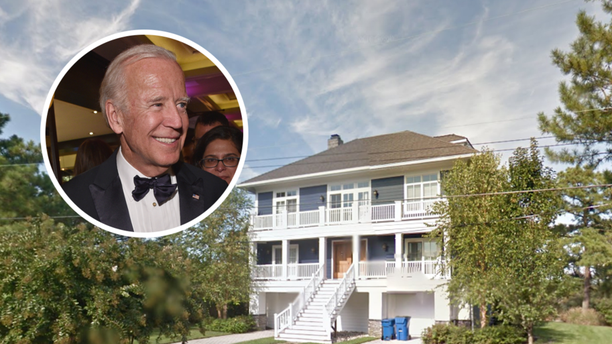Biden bought a new home to host family gatherings.