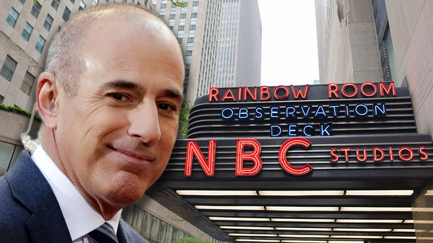 "Matt Lauer, co-host of the NBC ""Today"" television program"