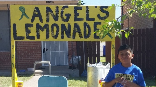 Angel is raising funds to help his grandfather pay medical bills.