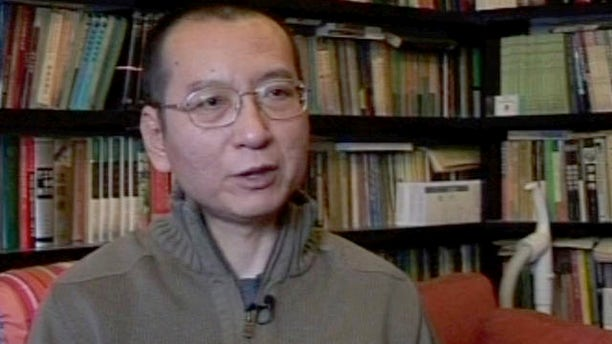 This image, taken in 2008, shows Chinese pro-democracy activist and writer Liu Xiaobo (AP)