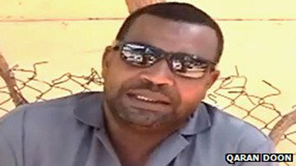 Pictured above is Somali comedian Abdi Jeylani Malaq, also known as Marshale, who was killed by gunmen in Mogadishu, Somalia.