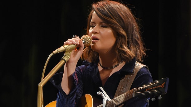 "Maren Morris explained how Vince Gill came to sing on her song ""Dear Hate."""